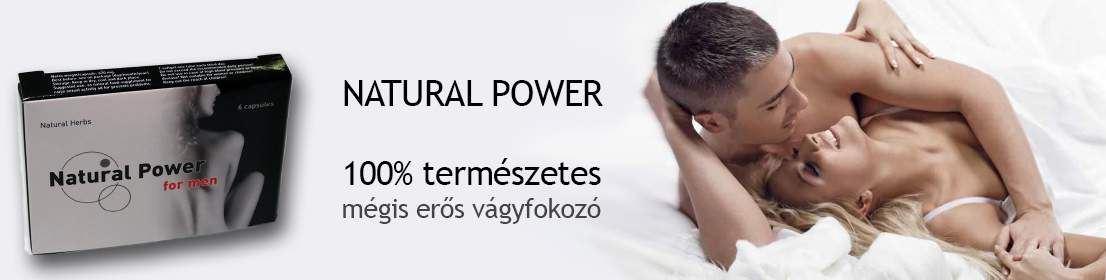 natural power potencianövelő
